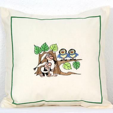 Dětské povlaky na polštářky s výšivkou © ZS
