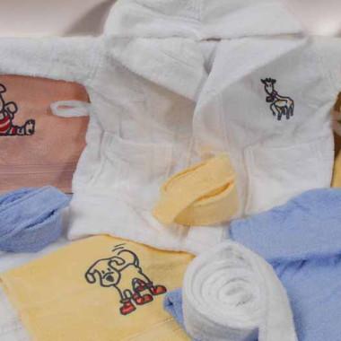 Dětské froté ručníky a osušky